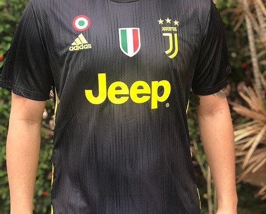 1e59f8f073 Camisa Oficial Juventus Preta adidas 2019 Cr7 - Nº 7 Ronaldo - R ...