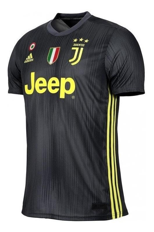 911cbbba3e camisa oficial juventus preta adidas 2019 cr7 - nº 7 ronaldo. Carregando  zoom.