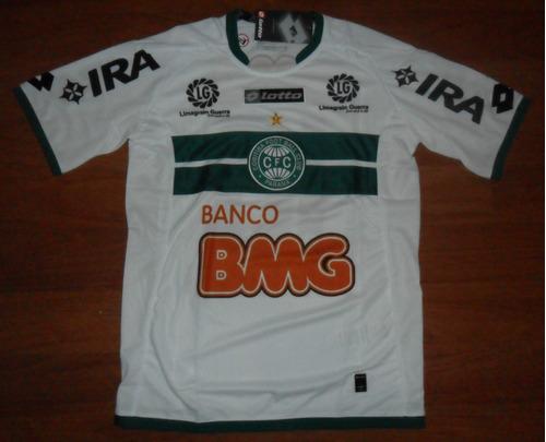 camisa oficial lotto coritiba 2011 tam. p (copa do brasil)