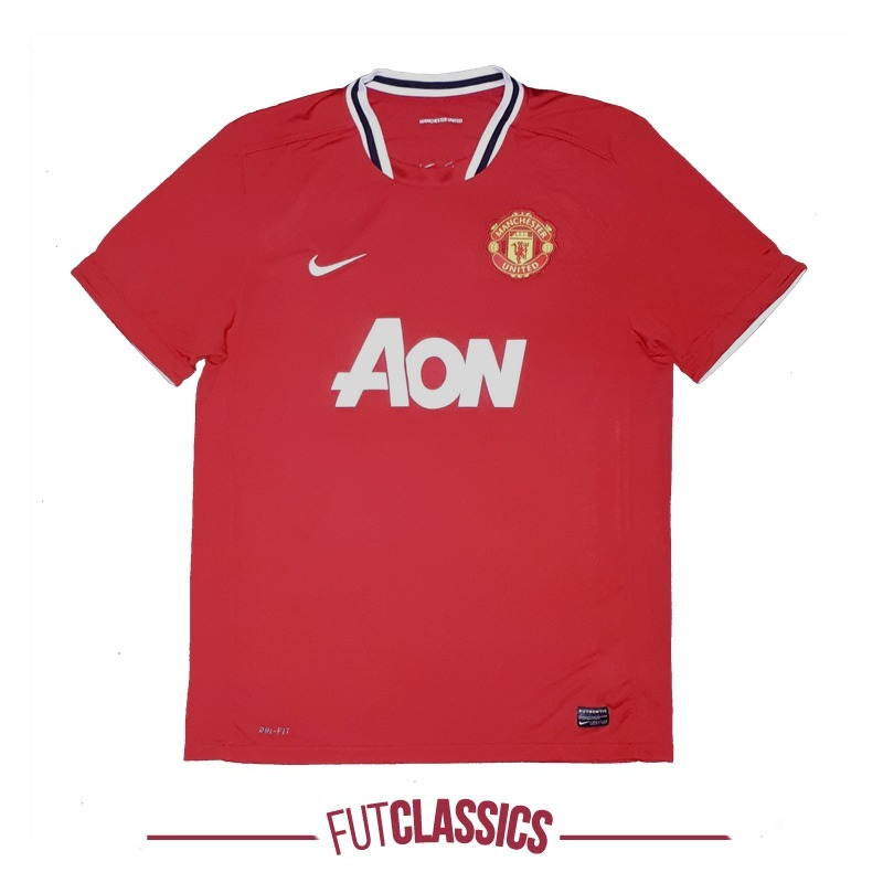 camisa oficial manchester united inglaterra 2011 home nike. Carregando zoom. 732390100eb32