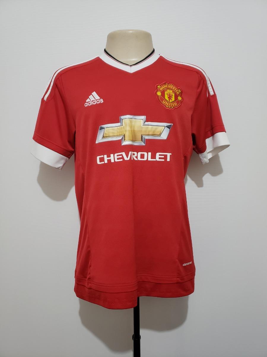 c877b3cbcad09 camisa oficial manchester united inglaterra 2015 home adidas. Carregando  zoom.