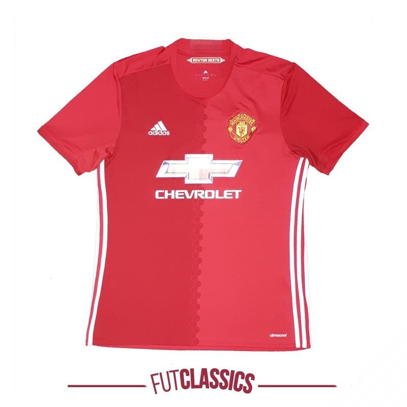 e59b8aef51c55 camisa oficial manchester united inglaterra 2016 home adidas. Carregando  zoom.