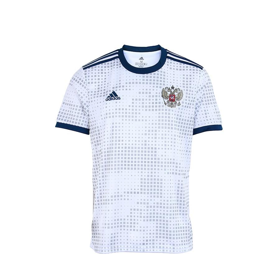 5221a3699ecd8 camisa oficial masculina adidas rússia ii 2018 - branco. Carregando zoom.