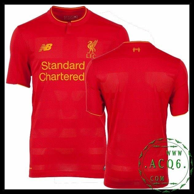 Camisa Oficial New Balance Liverpool Home 2017 2018 - R  150 15bb34440dd