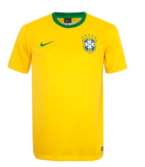 Camisa Oficial Nike Brasil Supporters - R  99 f26317247d260