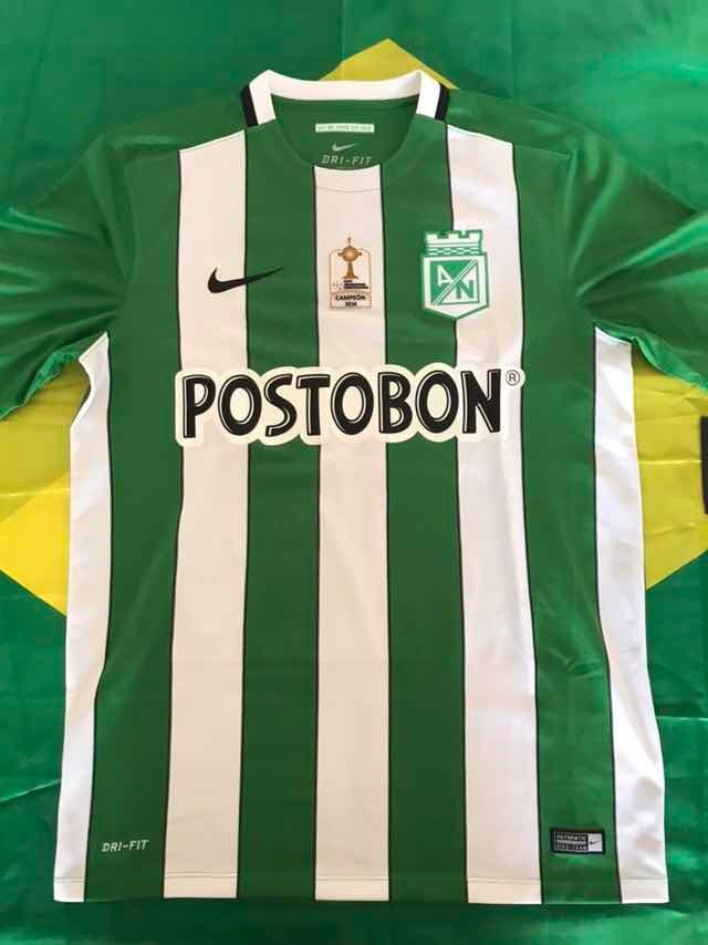 52efc6dd9 camisa oficial nike nacional medellin colômbia titular m. Carregando zoom.
