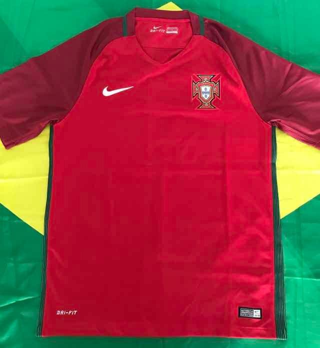 91a629d5e730c Camisa Oficial Nike Seleção Portugal Euro 2016 Tamanho M - R  230