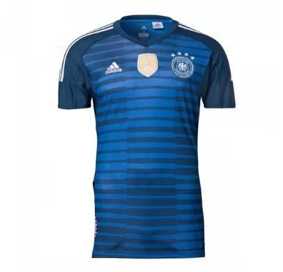 3c7bce995c86e Camisa Oficial Nova Da Seleçao Alemanha Azul 2018 2019 - R  119