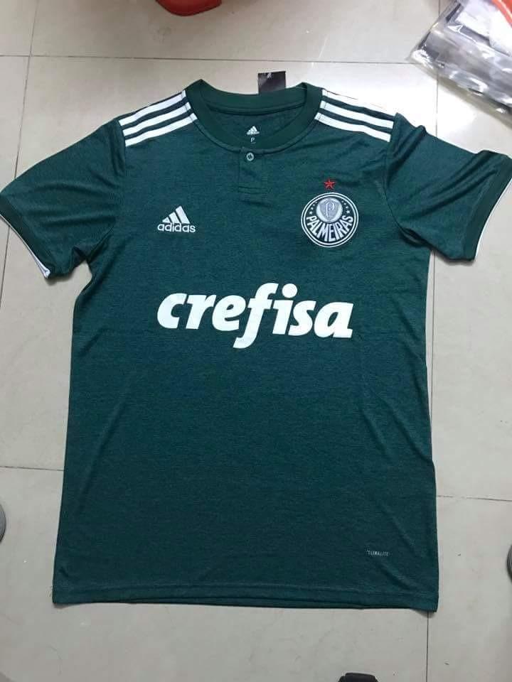 6f0017b636 Camisa Oficial Palmeiras 18 19frete E Personalização Grátis - R  140 ...