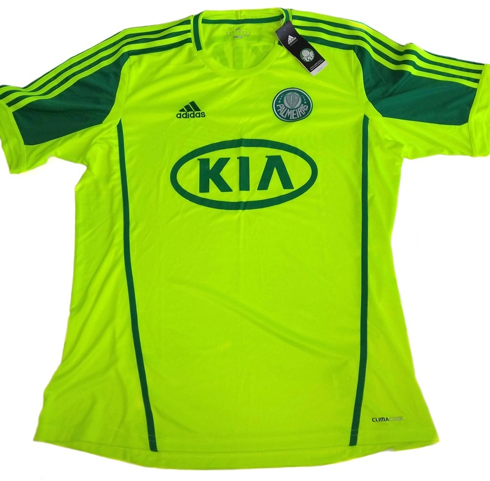 Camisa Oficial Palmeiras 2012 (kia) Tam. Gg - R  119 8d4004c724762