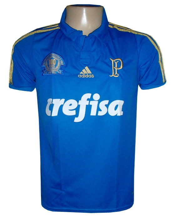 7cd73e9276 Camisa Oficial Palmeiras Centenário Crefisa - R  80