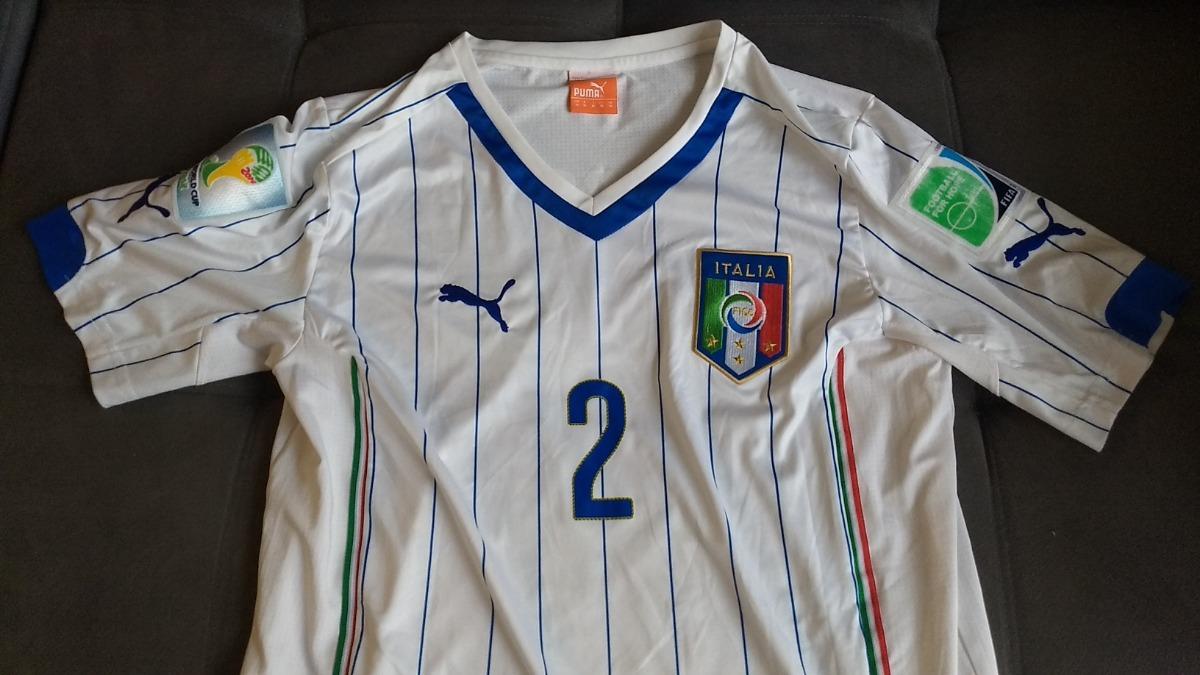 494ab5f38e2 camisa oficial puma da seleção italia - jogador com patches. Carregando  zoom.