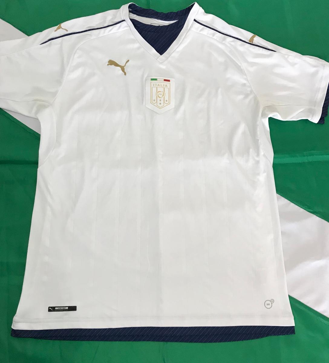 17edb14c21 camisa oficial puma itália 2016 2017 gg s n. Carregando zoom.