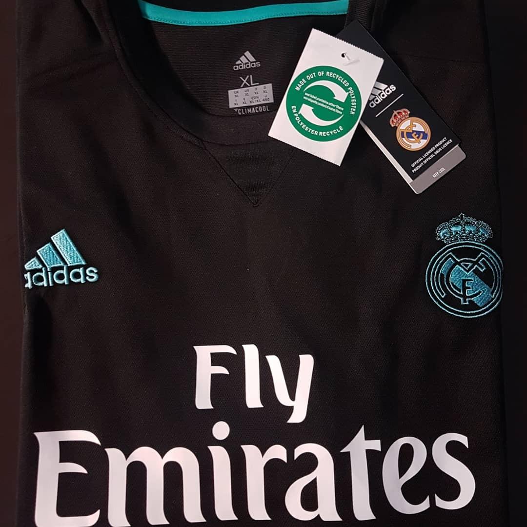 camisa oficial real madrid away 2017 2018 adidas. Carregando zoom. 62a9a5d68ca65