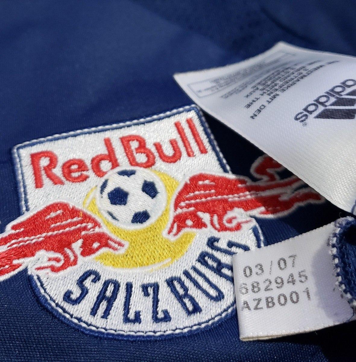 b568772cd2605 camisa oficial red bull salzburg áustria 2007 away adidas m. Carregando  zoom.