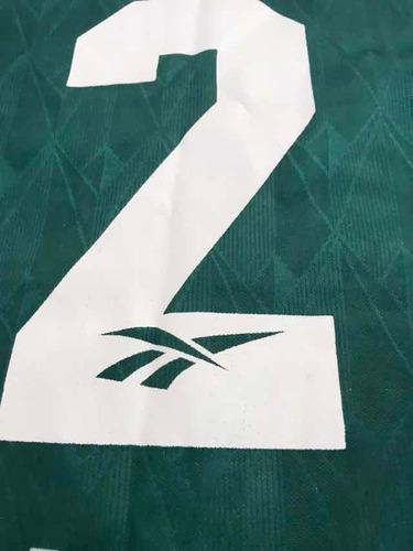 3cbfb0989a camisa oficial reebok palmeiras parmalat 1996 n2 manga longa. Carregando  zoom.