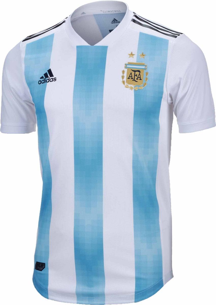 977e220bc3 Camisa Oficial Seleção Argentina 2018 - Home + Frete Off - R  150
