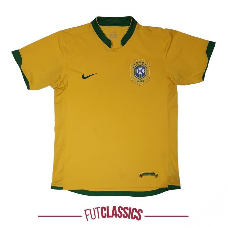 9b670f7efc camisa oficial seleção brasileira brasil 2006 home nike p. Carregando zoom.