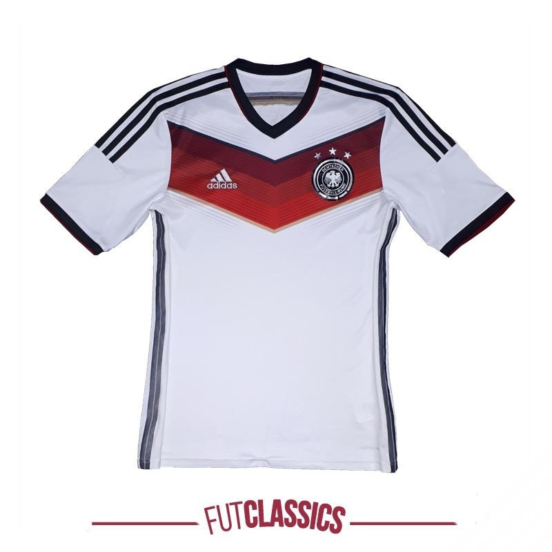 camisa oficial seleção da alemanha 2014 home adidas tam g. Carregando zoom. ac766c8d94267