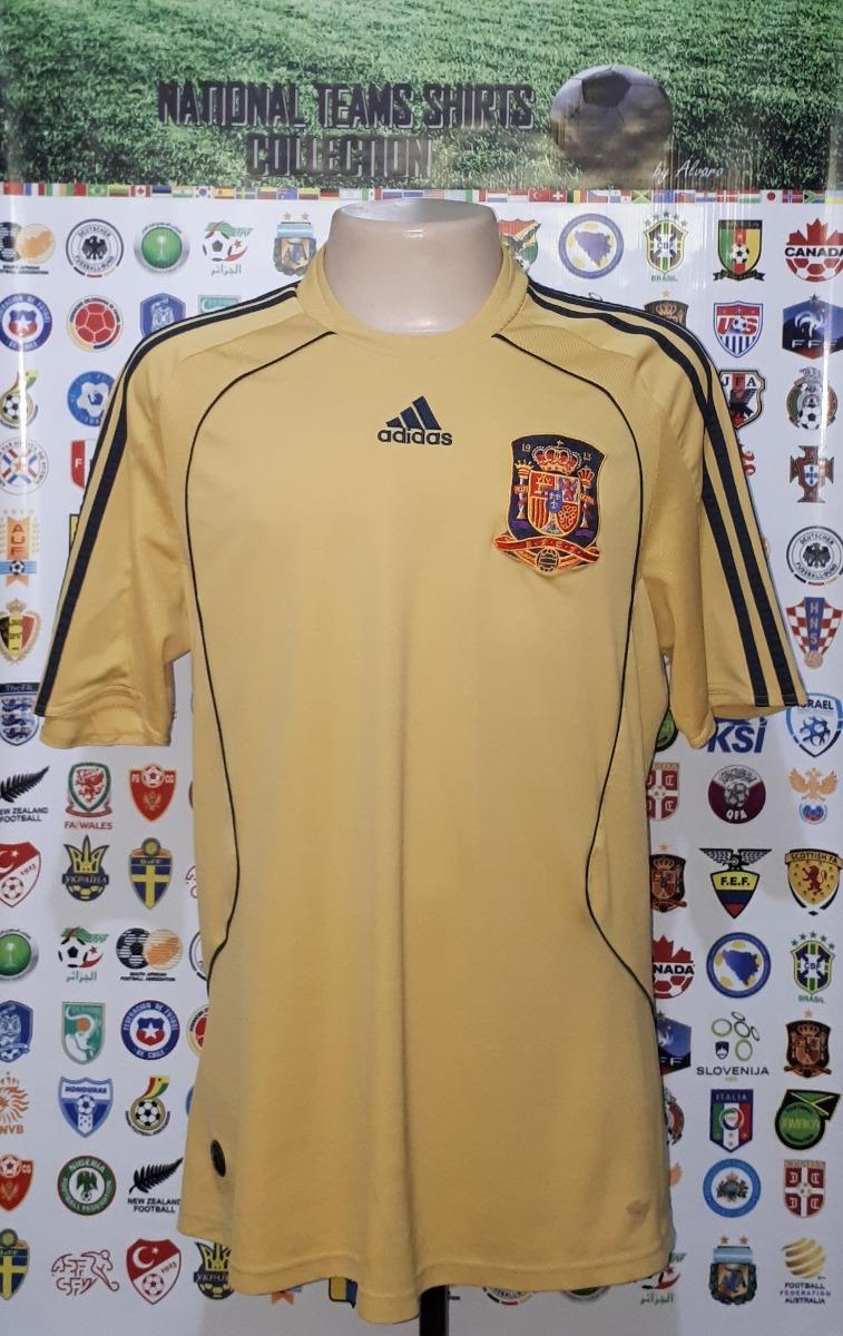 camisa oficial seleção espanha 2008 away adidas tam g rara. Carregando zoom. a46925fd4b1ae