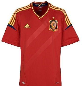 b7a1ca73e4 Camisa Oficial Seleção Espanha Seminova - R  159