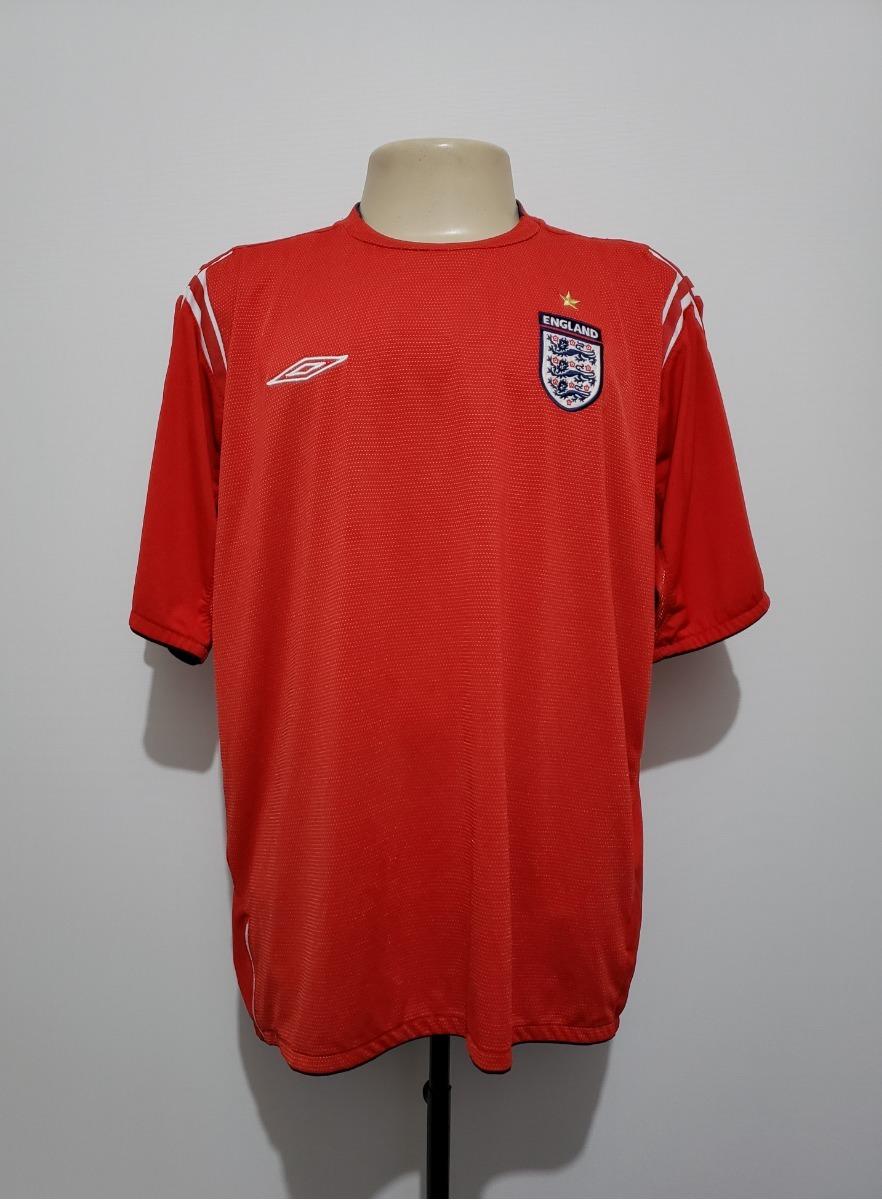 camisa oficial seleção inglaterra 2004 away umbro. Carregando zoom. 6963416f4a930