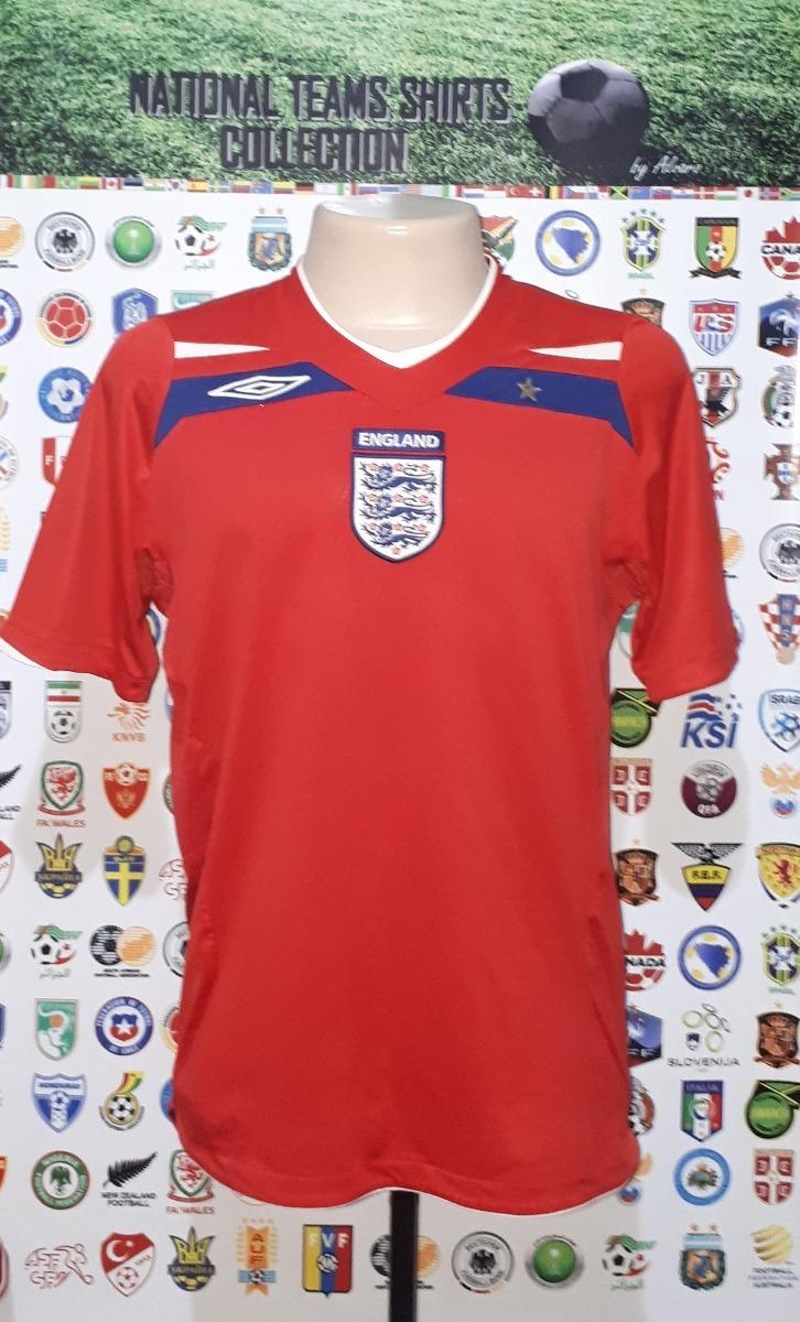 camisa oficial seleção inglaterra 2008 away umbro tam m. Carregando zoom. 3b086f16357da