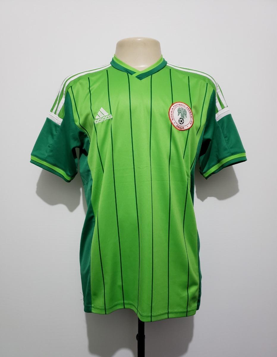 140acc1e4e camisa oficial seleção nigéria 2014 home adidas tam g. Carregando zoom.