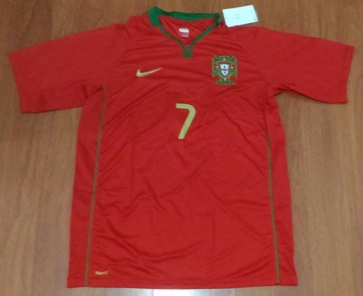 aa98c65cbb camisa oficial seleção portugal eurocopa 2008 nº 7 tamanho g. Carregando  zoom.