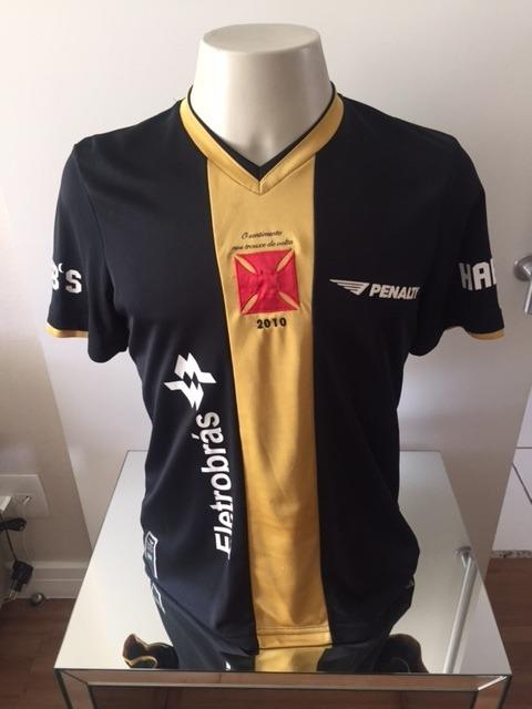 3ea22022f25cf Camisa Oficial Vasco - Amor Infinito - Preta  dourada - 2010 - R ...
