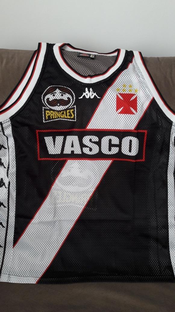 bd01515d64163 camisa oficial vasco kappa basquete ano 1997. Carregando zoom.
