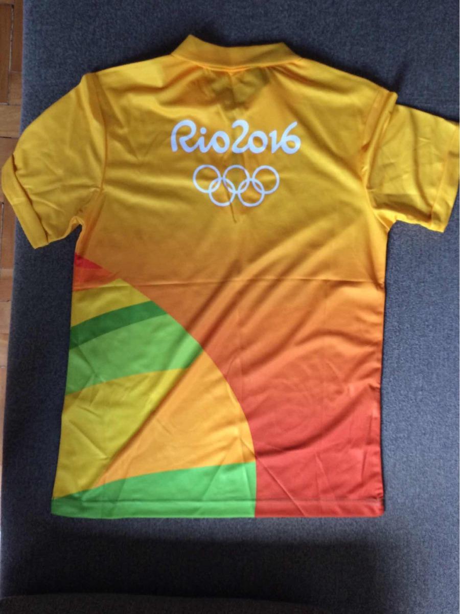 f28b1d1fd8 Camisa Oficial Voluntários Olimpíadas Rio 2016