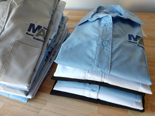 camisa oficina / trabajo hombre - ponele tu logo