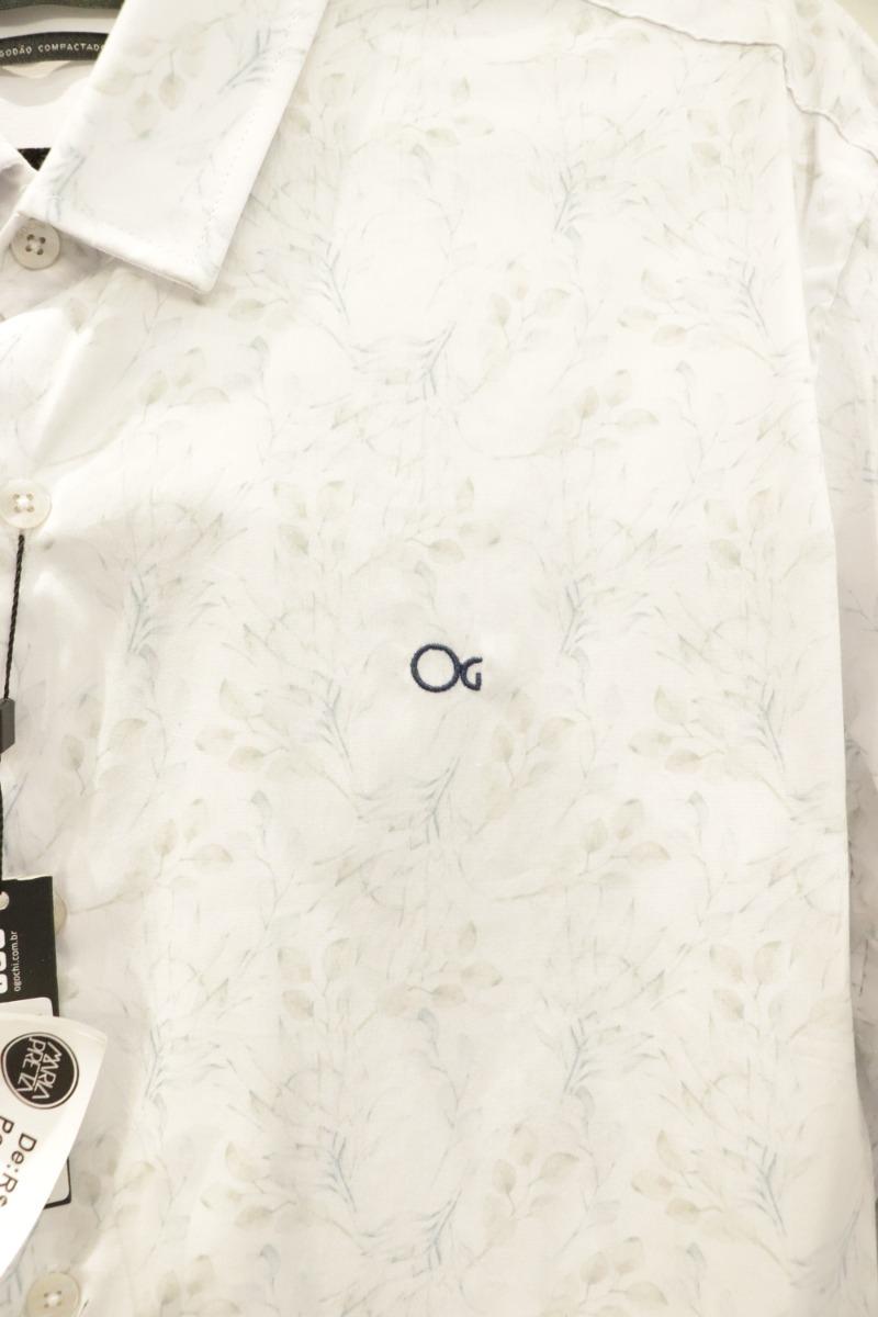 c6880194f6 camisa ogochi manga longa cult slim fit estampada. Carregando zoom.
