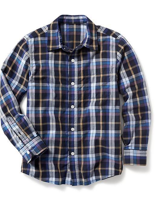 3c217d6ba Camisa Old Navy Niño 778002-07-1 Azul Marino Con Cuadros -   209.00 ...