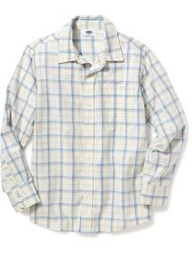 de29d15a0 Camisa Old Navy Niño Beige Cuadrada 206863-07-1 Manga Larga