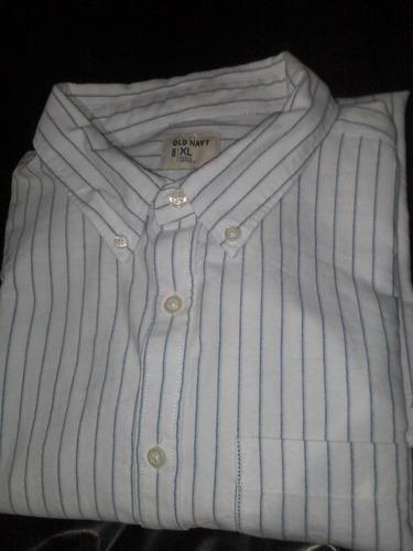 camisa old navy tállá xl made in indonesia 100% cottón