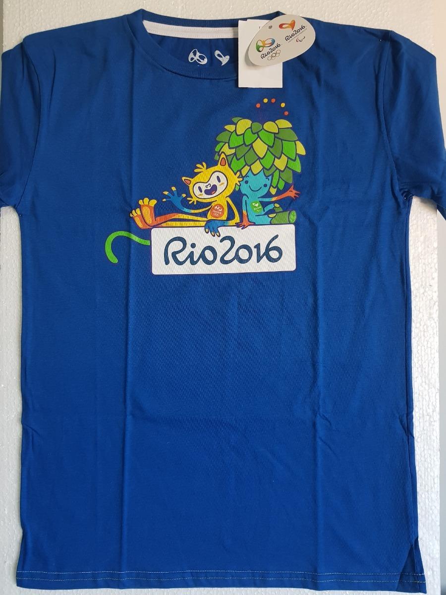 ... camisa olimpiadas rio 2016 mascote tom vinicius infantil. Carregando  zoom. 9671ee7d7b8694  Camisa Brasil ... 6b12b69cdcb5b