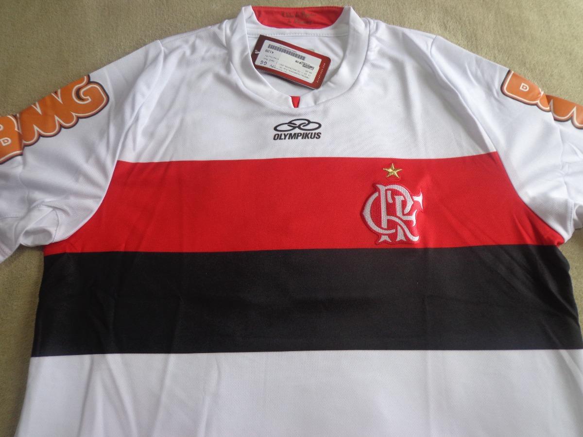 Camisa Olympikus Flamengo 2012  10 Centenário Futebol Gg - R  290 bcf0d348fe61a