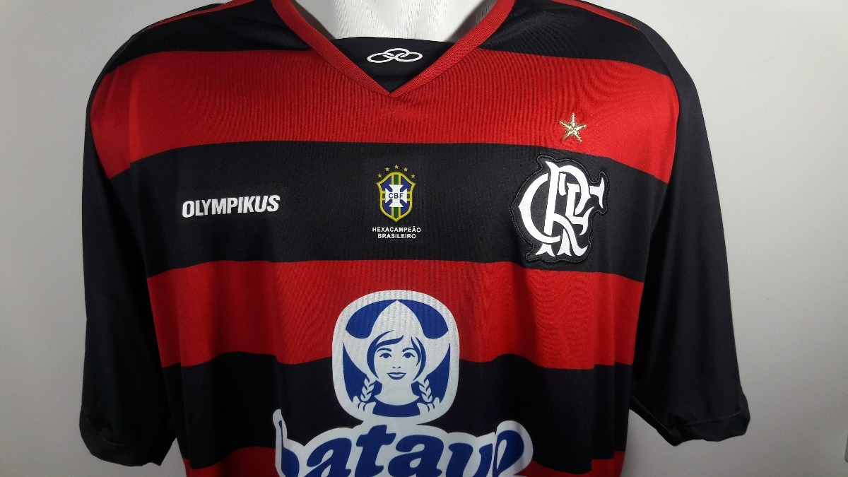 12f463ce5d Camisa Olympikus Flamengo Home 2010 2011 Nova Oficial - 3g - R  170 ...