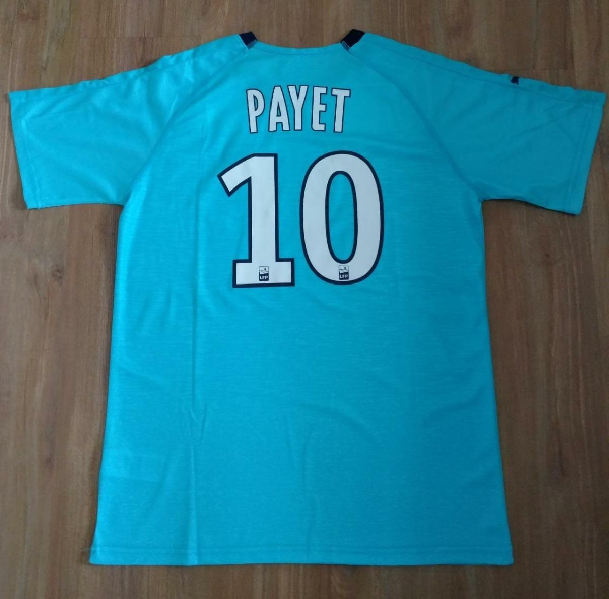 7eddeedbd Camisa Olympique De Marseille 18 19 Payet 10 Pronta Entrega - R  179 ...