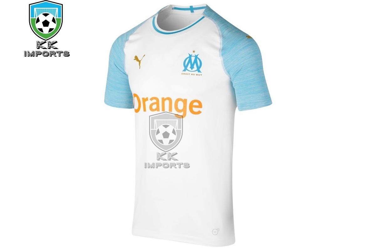 63e17b72e camisa olympique de marseille 2018 2019 uniforme 1. Carregando zoom.