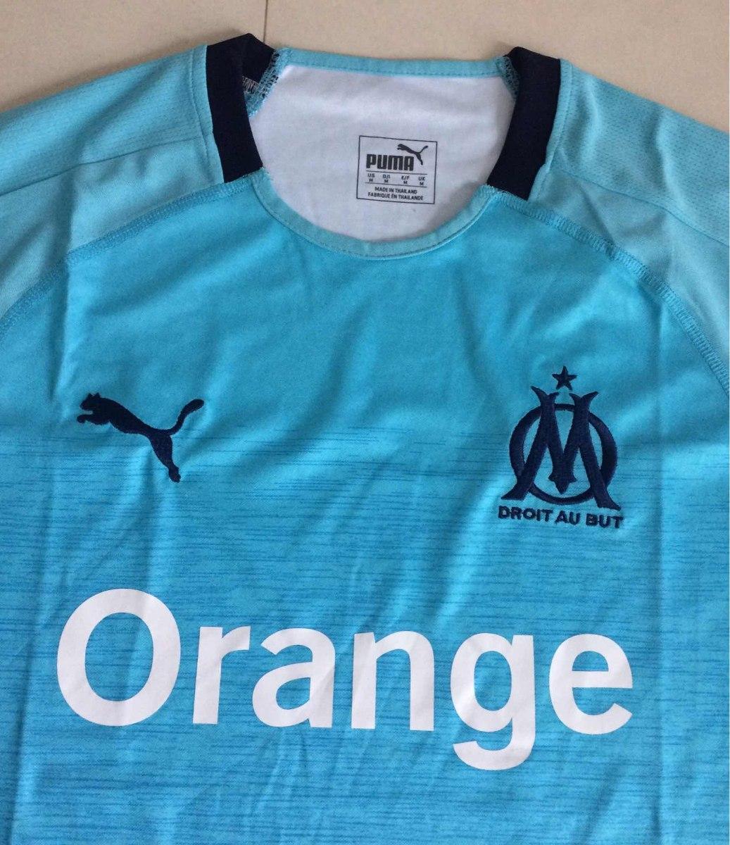 a424c8c53 camisa olympique de marseille oficial 2018 2019 fotos reais. Carregando zoom .