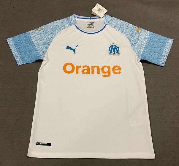 870989e0c Camisa Olympique Marseille 2018-2019 Original E Frete Gratis - R ...