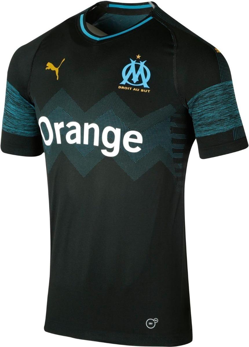 aa5dd7636 camisa olympique marseille uniforme 2 2018 2019 frete grátis. Carregando  zoom.