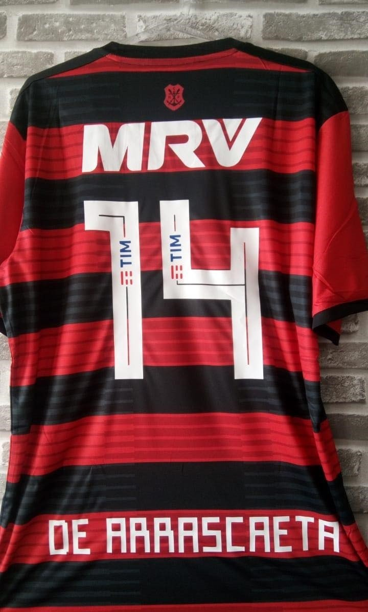 Camisa Original adidas Flamengo 2018 2019 Gabigol Arrascaeta - R ... bbb56ec556228