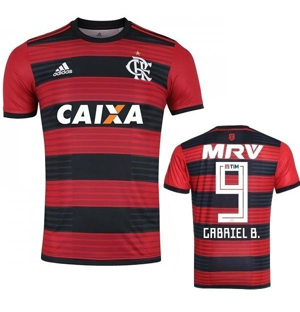 11400715d7 Camisa Original adidas Flamengo 2018/2019 Gabigol Arrascaeta - R ...