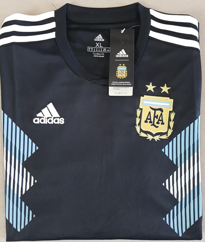 camisa original argentina 2018 (away). Carregando zoom. a6487d8a4bf23