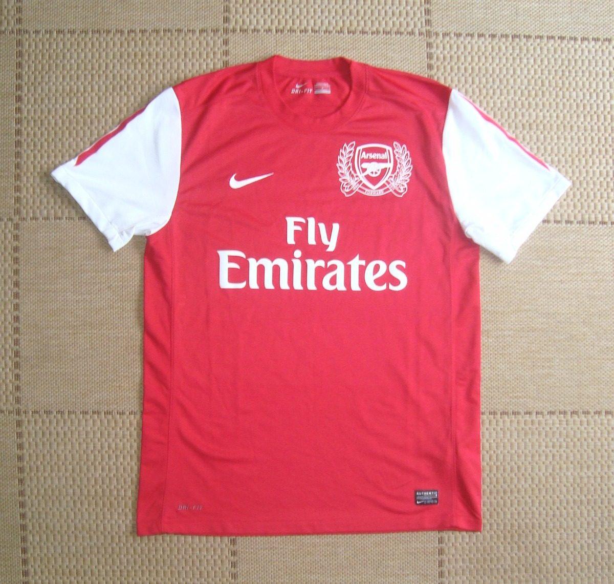 camisa original arsenal 2011 2012 home. Carregando zoom. 6a3dfb96f7da5