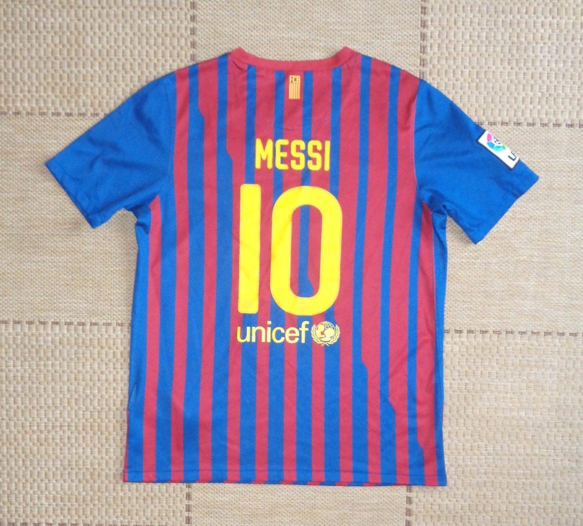 camisa original barcelona 2011 2012 home  10 messi. Carregando zoom. b8613d3bd6379